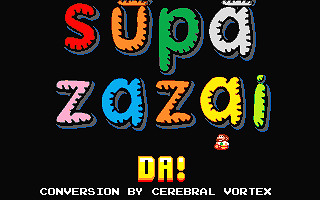 Supa Zazai Da! atari screenshot